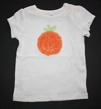 New Gymboree Halloween Ruffle Pumpkin Tee Top Shirt Size 2T NWT Halloween Shop