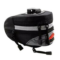 MTB Bike Bicycle Saddle Bag Under Seat Storage Tail Rear Cycling Pack Pouch J1D0