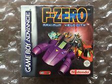 NEW FACTORY SEALED F ZERO MAXIMUM VELOCITY FOR NINTENDO GAMEBOY ADVANCE F-ZERO