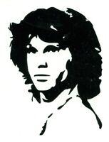 Jim Morrison The Doors Rock psychedelic Vinyl Decal permanent indoor outdoor