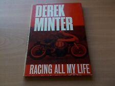 More details for derek minter--racing all my life.1965.