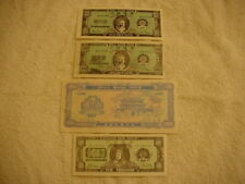 Vintage Heaven & Hell Bank Notes, Lot of 4