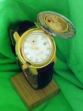 Russion quartz watch PRESIDENT 2014202. POLJOT.Golden-plated. Men`s Fashion.