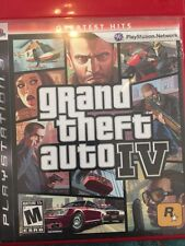 Grand Theft Auto IV  PS3 GTA IV  USED