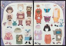 Sara and her Friends Paper Doll by Naoko Fortunato, Mag. Pd. 1994