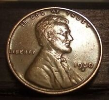 *UNCIRCULATED*1930-D LINCOLN WHEAT CENT Excellent and lustrous beautiful coin