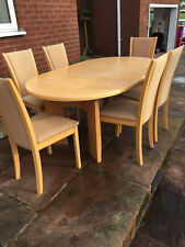Skovby SM14 Dining Table and 6 Chairs