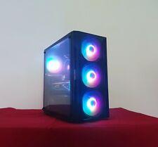 PC COMPUTER GAMING RYZEN 3600 AMD RX 580 NITRO BLU 8GB SSD 256GB