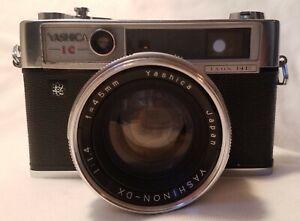 Yashica IC Lynx 14e with original case & lens plus Sekonic Auto Lumi lightmeter