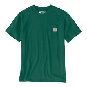 Carhartt Workwear Pocket Short Sleeve Casual T-Shirt - North Woods Heather
