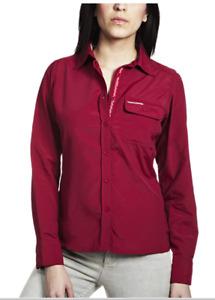 Craghoppers| Womens Nosilife Darla SS Shirt | Retro Pink | 20