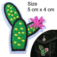 Cactus patch iron on prickly phallic tequila desert sting plant iron-on patches