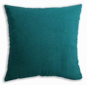 Mf23a Light Teal Blue Silky Soft Velvet Cushion Cover/Pillow Case Custom Size