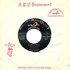 PAUL ANKA Crazy Love Let The Bells Keep Ringing FR Press ABC 45 9802 SP