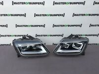 VW AMAROK FACE LIFTING 2014-2018 DRL LED XENON HEADLIGHTS PAIR GENUINE LHD