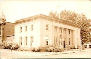 Vtg Postcard RPPC 1940s The Dalles Oregon OR - Post Office Street View UNP