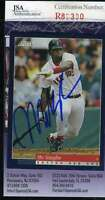 Mo Vaughn 1994 Score Jsa Coa Hand Signed Authentic Autographed Red Sox