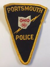 Portsmouth Ohio Police Department Cloth Patch