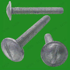 "10x 7/8"" x 1/8"" M3 Steel Washer Head Whitworth Slotted Screws"