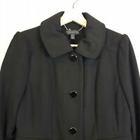 FOREVER NEW | Womens Black Coat / Jacket  [ Size AU 10 or US 6 ]