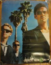 2001 Depeche Mode Exciter Us Promo Poster 18 X 24 Poster Vg