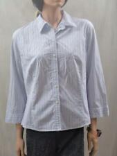 COUNTRY ROAD White 100% Cotton Stripe Shirt Sz XL