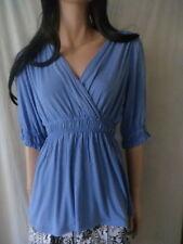 Rockmans Viscose Short Sleeve Regular Tops & Blouses for Women