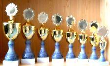 8 Pokale Serie gestaffelt 24-38cm mit Emblem  (Pokale Sieger Gravur Pokal)#1654