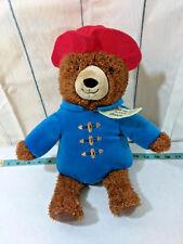 "14"" Paddington Bear Doll Khol's Cares Plush Stuffed Teddy Bear"