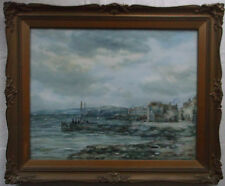 FRAMED VICTORIAN WATERCOLOUR PAINTING by JOHN HAMILTON GLASS S.S.A. EAST WEMYSS