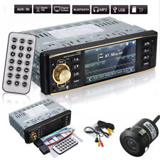 4.1'' 1Din Bluetooth Autoradio Stereo MP5 Player In-dash USB/FM/AUX Camera Recul