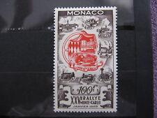 MONACO neufs  n° 420  RALLYE AUTOMOBILE (1955)