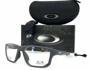 Oakley Crosslink Fit OX8136M-0353 Stain Pavement / Demo Lens 53mm Eyeglasses
