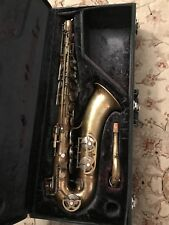 Vintage Supertone Tenor Saxophone 1950's