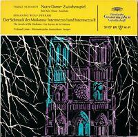 Schallplatte Notre Dame Zwischenspiel Franz Schmidt wie neu