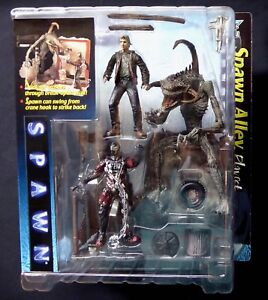 Spawn Alley Movie Playset Variant Todd Figure New 1997 McFarlane Toys Amricons