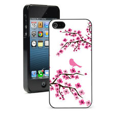 For iPhone X SE 5 5S 5c 6 6s 7 8 Plus Hard Case Cover 21 Pink Cherry Blossoms