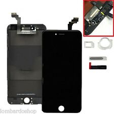 SCHERMO DISPLAY IPHONE 6 PLUS NERO PER APPLE TOUCH SCREEN LCD RETINA VETRO 6+