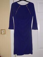 Stunning Karen Millen Electric Blue Dress - Size 12