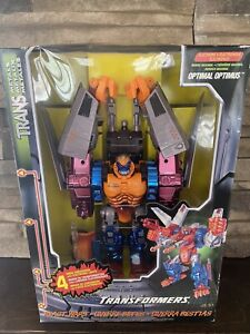 NEW Transformers Beast War Transmetal RARE OPTIMAL OPTIMUS PRIME MIB 1998 kenner