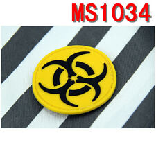 Yellow Resident Evil Patches Rubber Magic Patch Freely Attached Patches New
