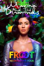 "009 Marina and the Diamonds - Singer Lambrini Diamandis 14""x21"" Poster"