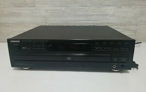 Kenwood DP-R4440 5 Disc CD Carousel Changer Player, No Remote, Tested Works