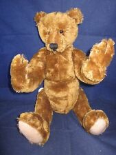 """BEARLY THERE """"E. P."""" 8 Jointed Teddy Bear LINDA SPIEGEL LE RARE TAG VINTAGE NEW"""