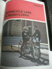 Vintage CB350 Honda Page 69 From Pa. Manual For Drivers ~ July 1973 Edition