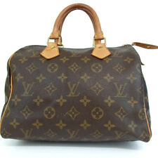 Authentic LOUIS VUITTON M41528 Monogram Speedy 25 SP1919 Handbag PVC/leather...