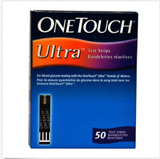 Johnson & Johnson One Touch Ultra 200 Test Strips-NEW STOCK Healthcare
