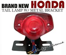 HONDA CB100 CL100 CD125 CD175 CA175 CM185 T CM200 T TAIL LIGHT +BRACKET 6V [LCB]
