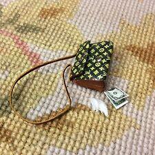 Pat Tyler Dollhouse Miniature Designer Purse Hand Bag Luggage Pocketbook p711