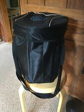 """New The Bag Factory Foldable Stool Cooler. 14""""x10"""". Very Handy& Comfy.  Black."""